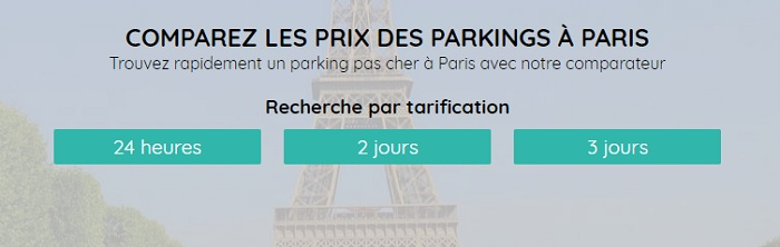 parking nord paris